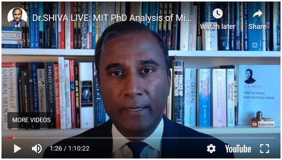 Dr. Shiva Ayyadurai exposes Michigan Presidential election fraud 2020